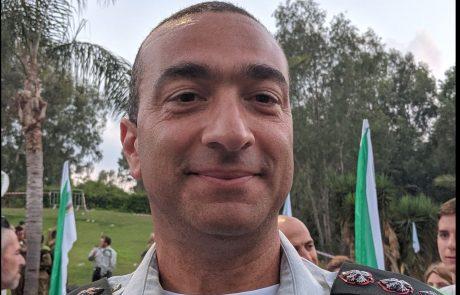 """אל""""ם ישראל שומר נכנס לתפקידו כמפקד חטיבת הנח""""ל"""