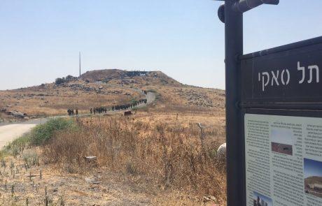 גדוד 50 כובש בתרגילים פלוגתיים את אתר המורשת תל סאקי